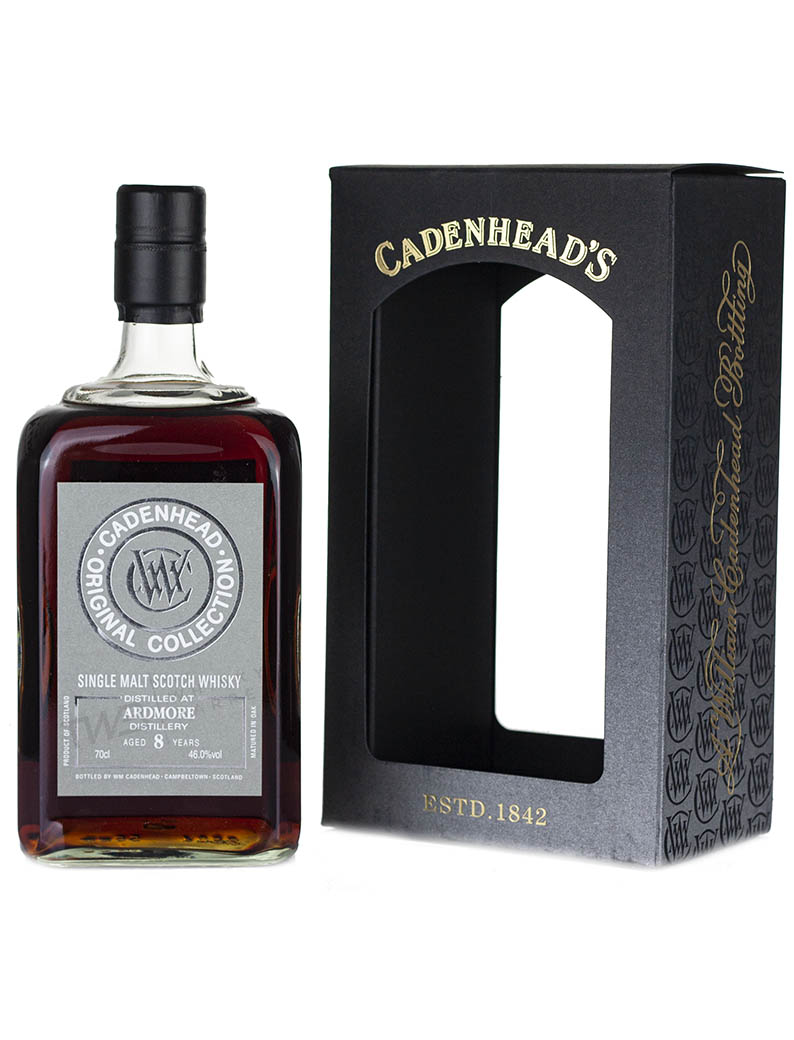 Alcoholic Drinks Ardmore 8 Year Old Cadenhead's Original Collection