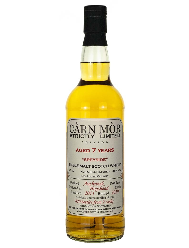 Auchroisk 7 Year Old 2011 Strictly Limited