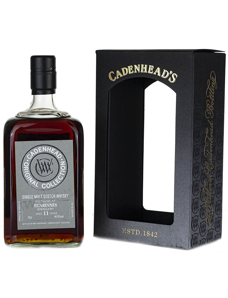 Alcoholic Drinks Benrinnes 11 Year Old Cadenhead's Original Collection