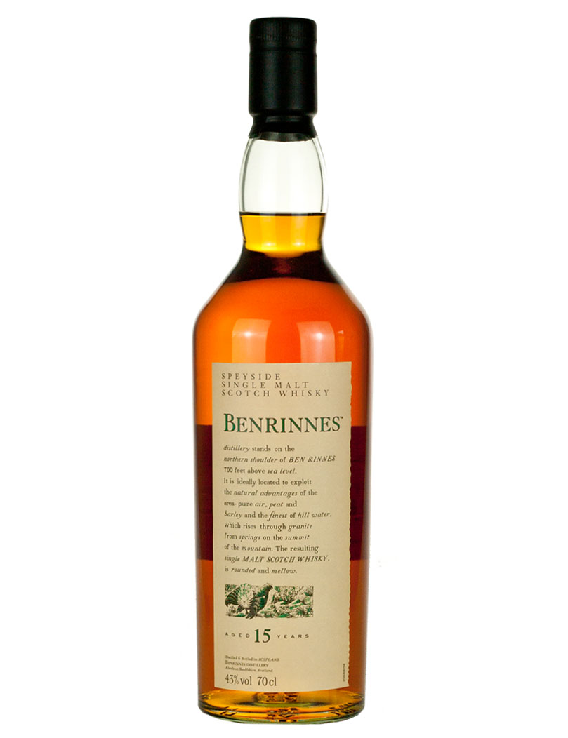 Benrinnes 15 Year Old Flora & Fauna