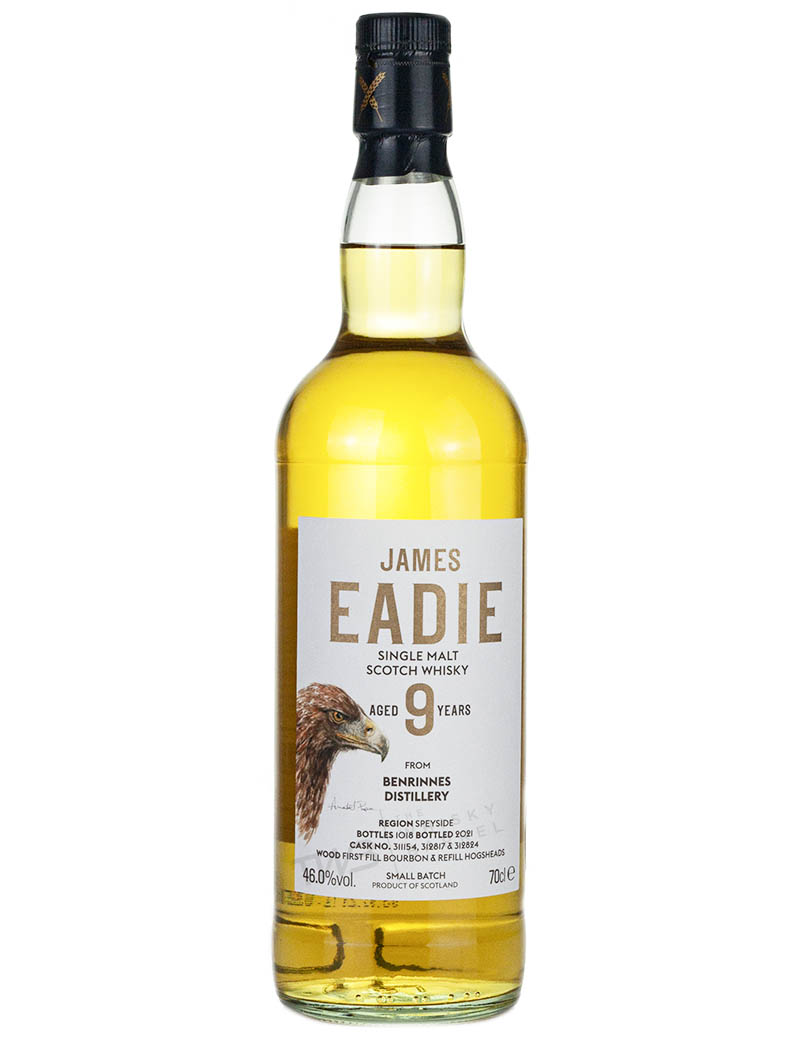 Benrinnes 9 Year Old James Eadie The Eagle