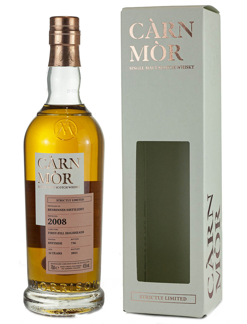 Benrinnes 12 Year Old 2008 Strictly Limited