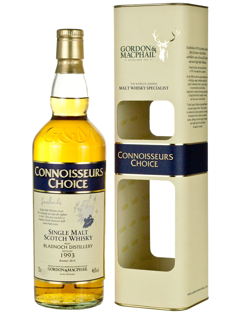 Bladnoch 1993 Connoisseurs Choice (2015)