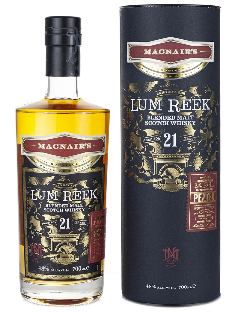 Blended Scotch Lum Reek 21 Year Old Peated (2021)