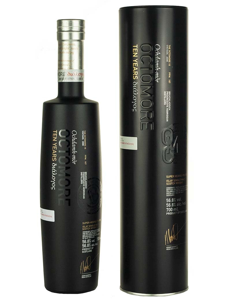 Bruichladdich Octomore 10 Year Old 2008 Dialogos