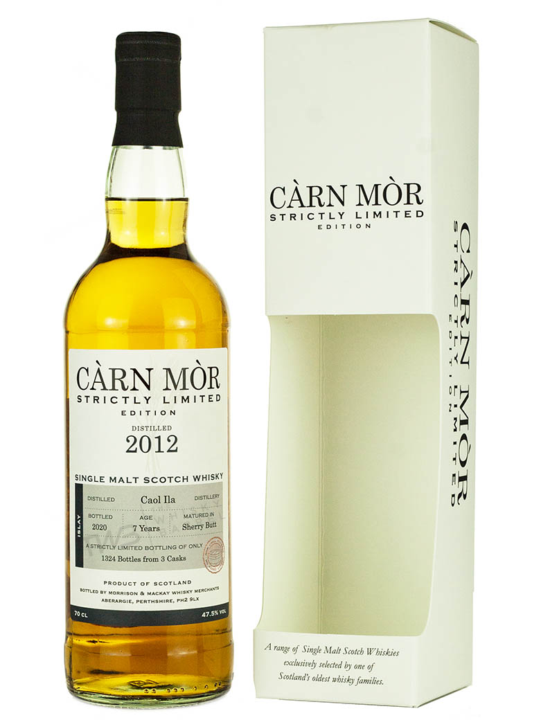 Caol Ila 7 Year Old 2012 Strictly Limited