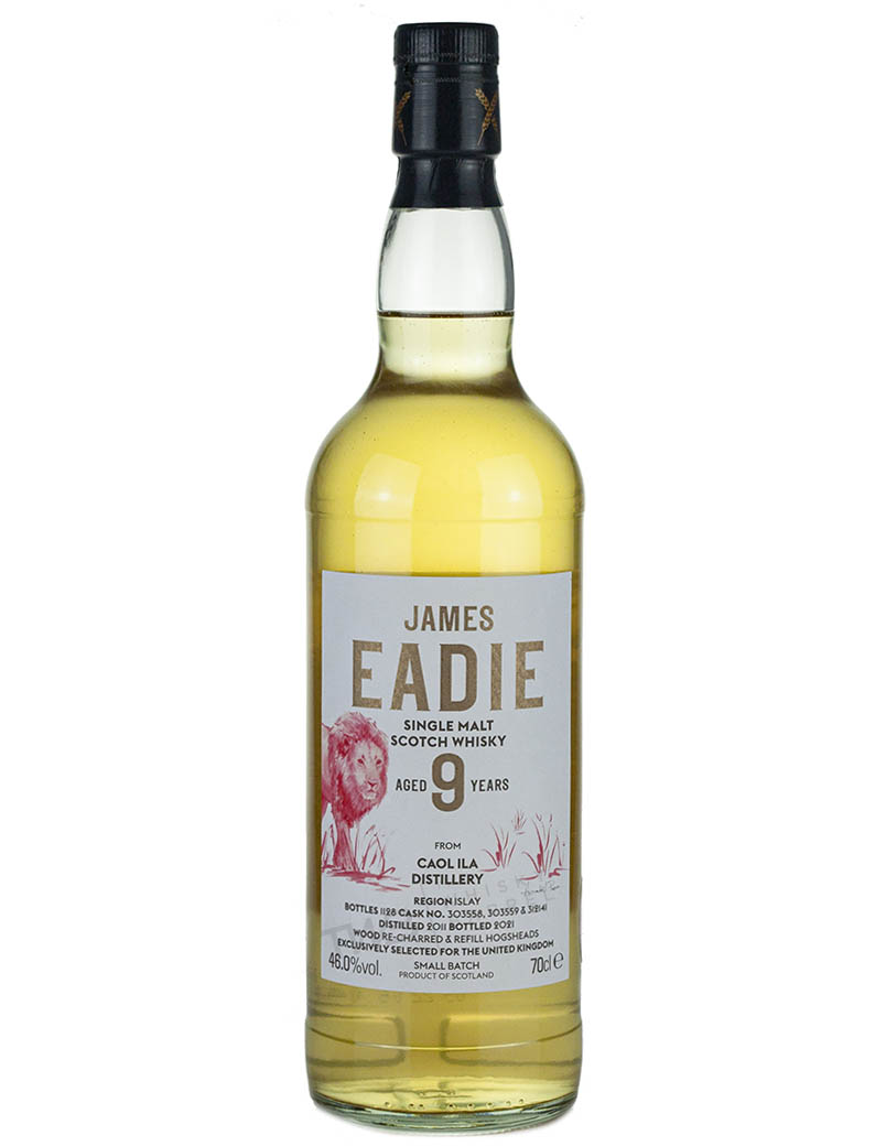Caol Ila 9 Year Old 2011 James Eadie The Red Lion