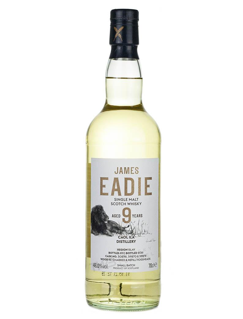 Caol Ila 9 Year Old James Eadie The Black Lion