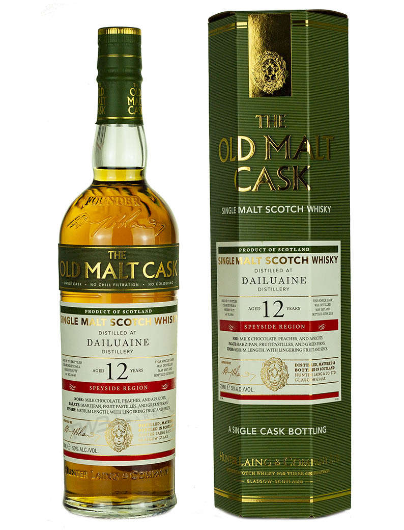 Dailuaine 12 Year Old 2007 Old Malt Cask