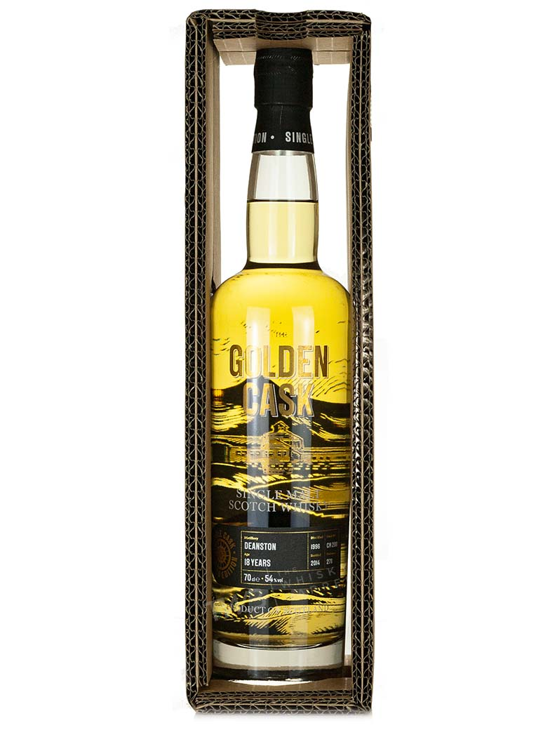 Deanston 18 Year Old 1996 The Golden Cask