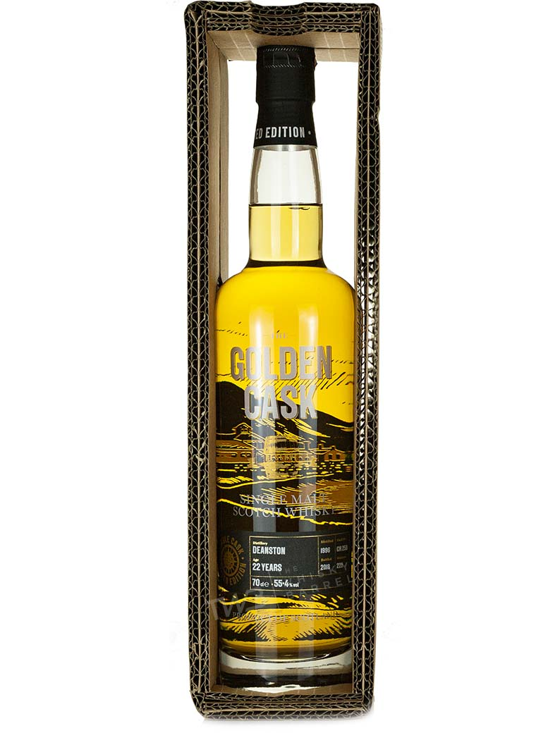 Deanston 22 Year Old 1996 The Golden Cask