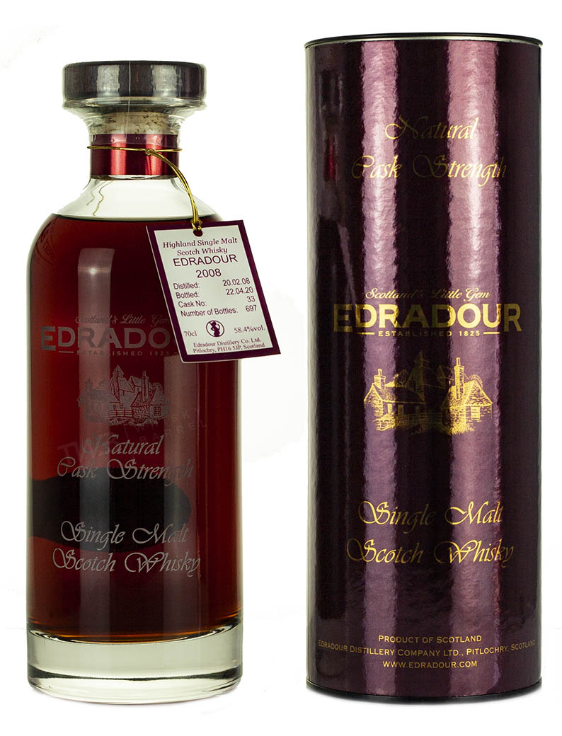Edradour 12 Year Old 2008 Sherry Cask Ibisco