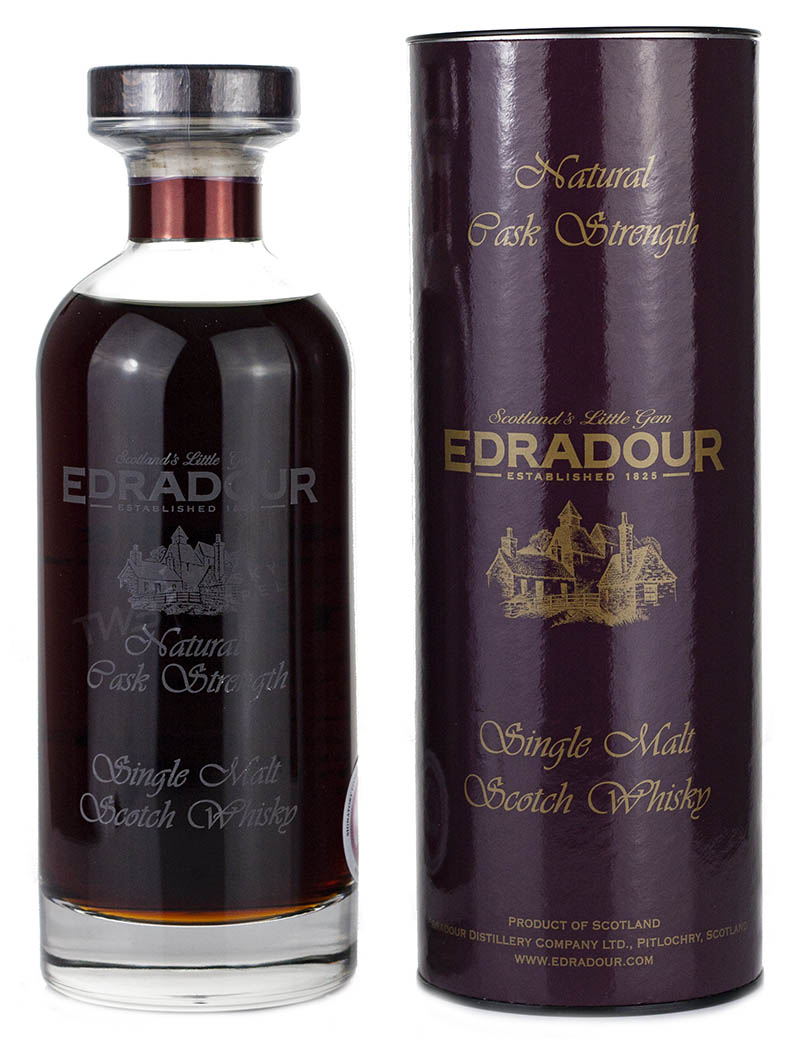 Edradour 12 Year Old 2009 Sherry Cask Ibisco
