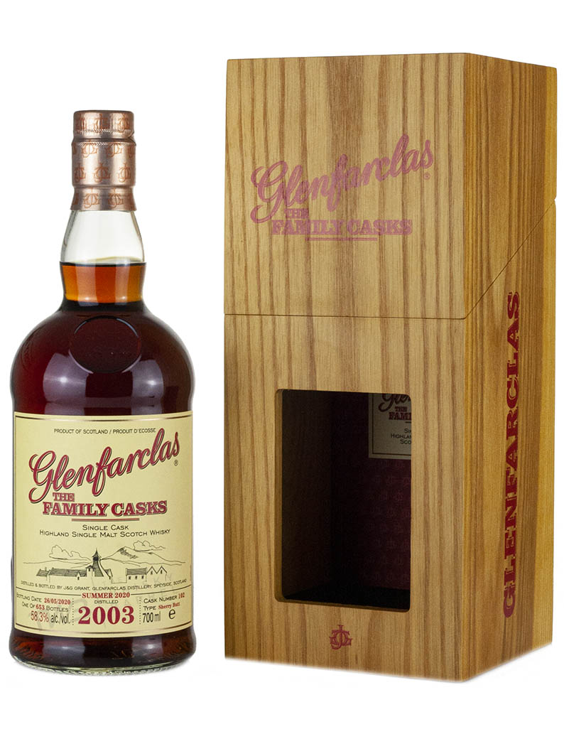 Glenfarclas 17 Year Old 2003 Family Casks Release S20