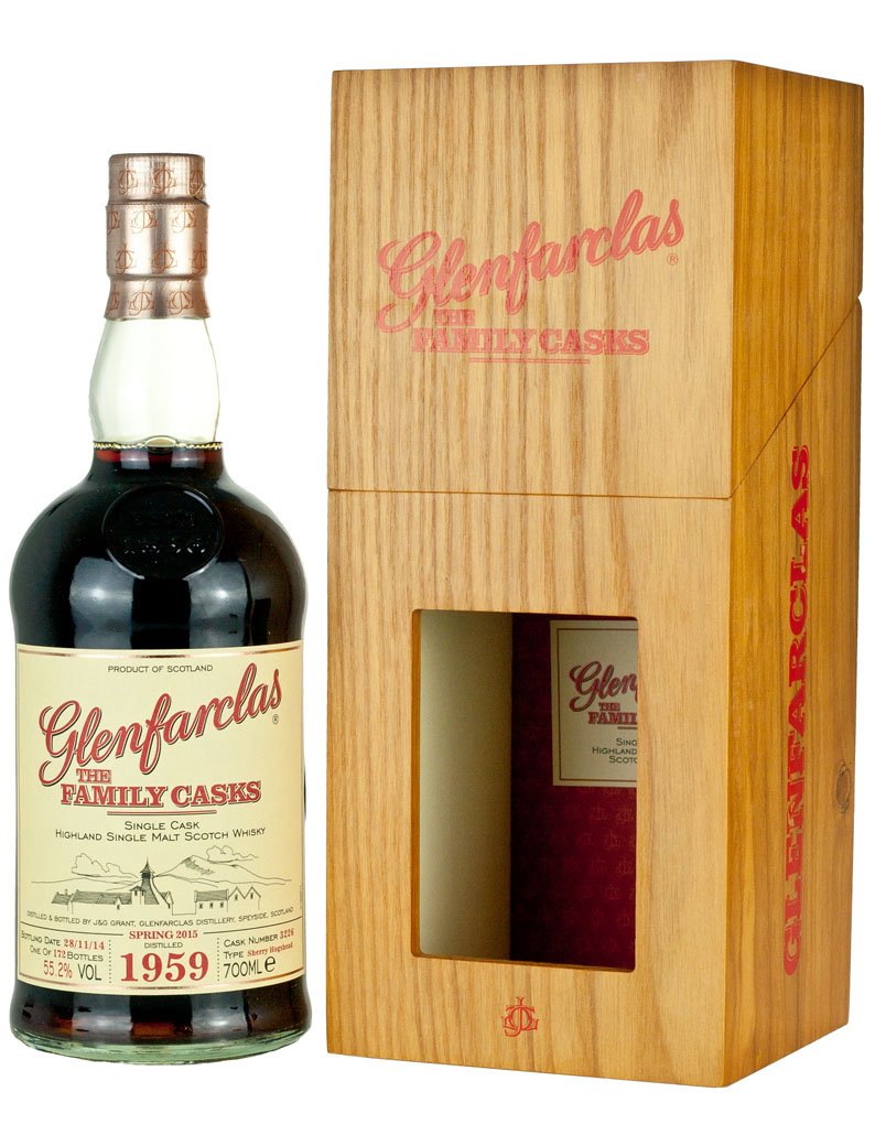 Glenfarclas 1959 Family Casks Release Sp15