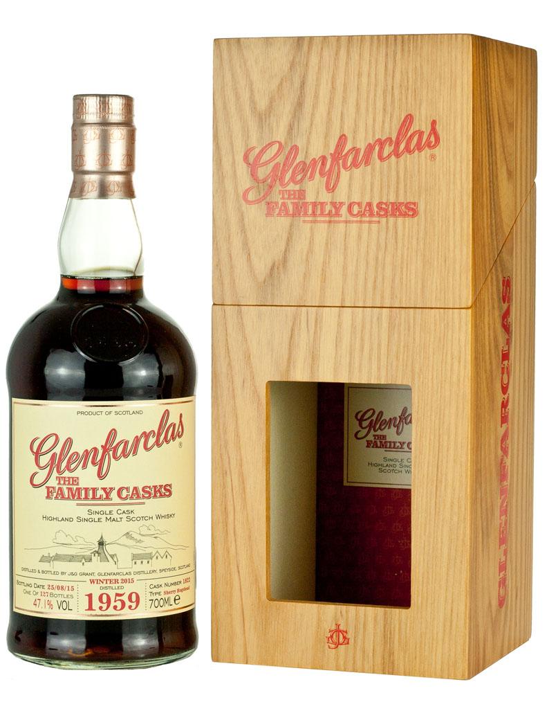 Glenfarclas 1959 Family Casks Release W15