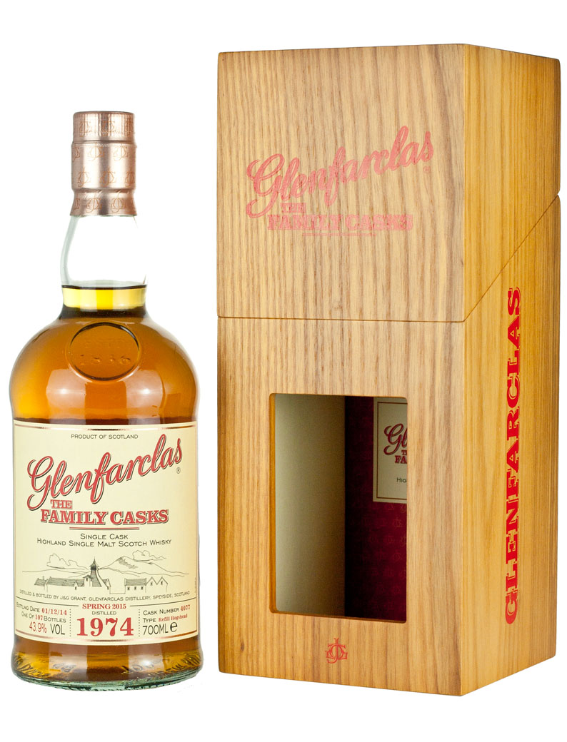 Glenfarclas 1974 Family Casks Release Sp15