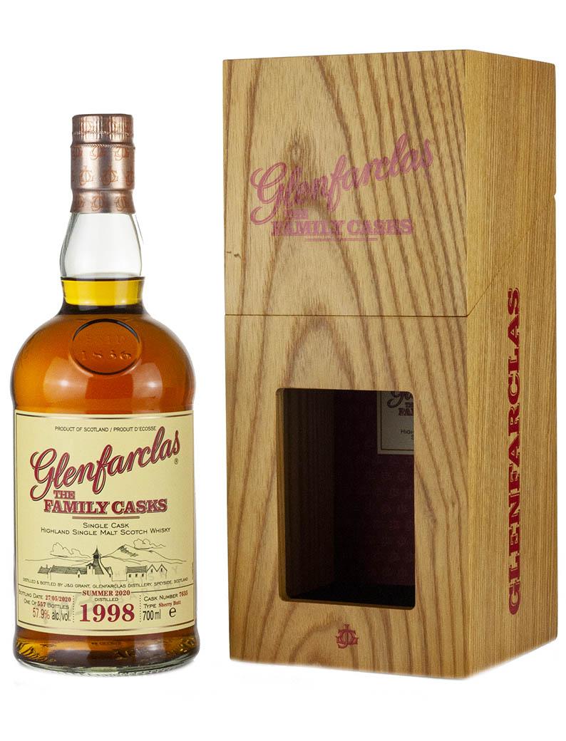 Glenfarclas 21 Year Old 1998 Family Casks Release S20