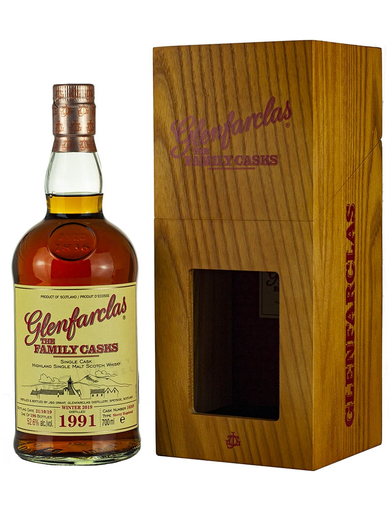 Glenfarclas 27 Year Old 1991 Family Casks Release W19