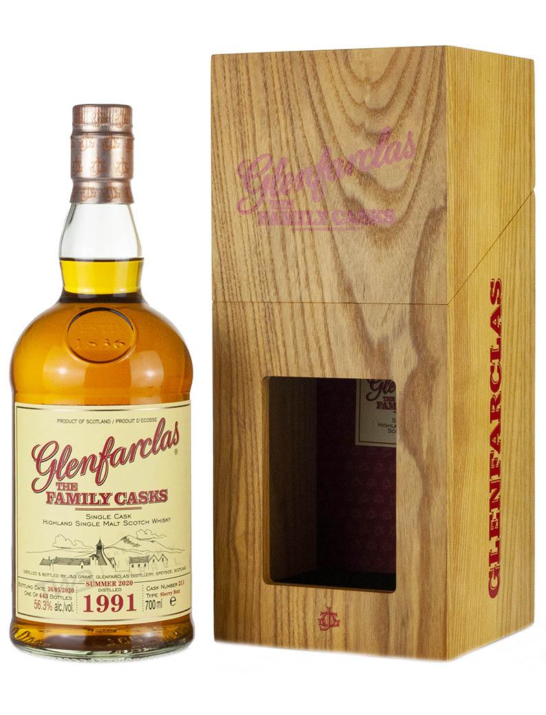 Glenfarclas 29 Year Old 1991 Family Casks Release S20