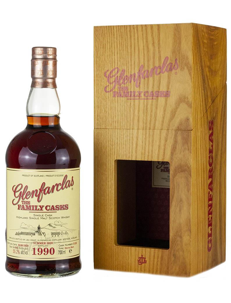 Glenfarclas 30 Year Old 1990 Family Casks Release S20