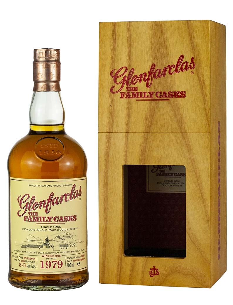 Glenfarclas 39 Year Old 1979 Family Casks Release W18