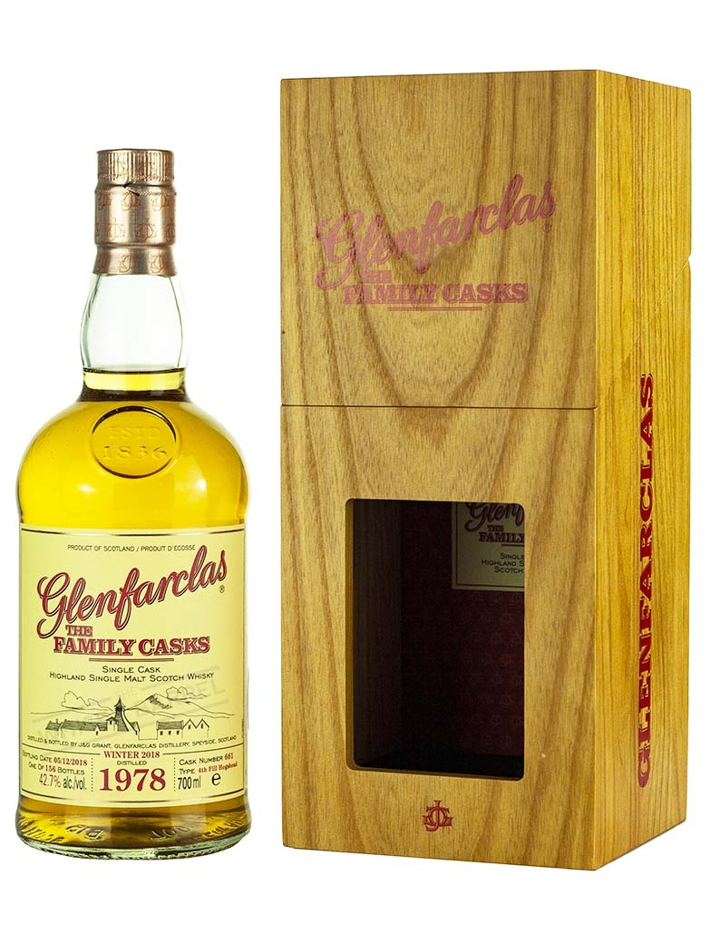 Glenfarclas 40 Year Old 1978 Family Casks Release W18