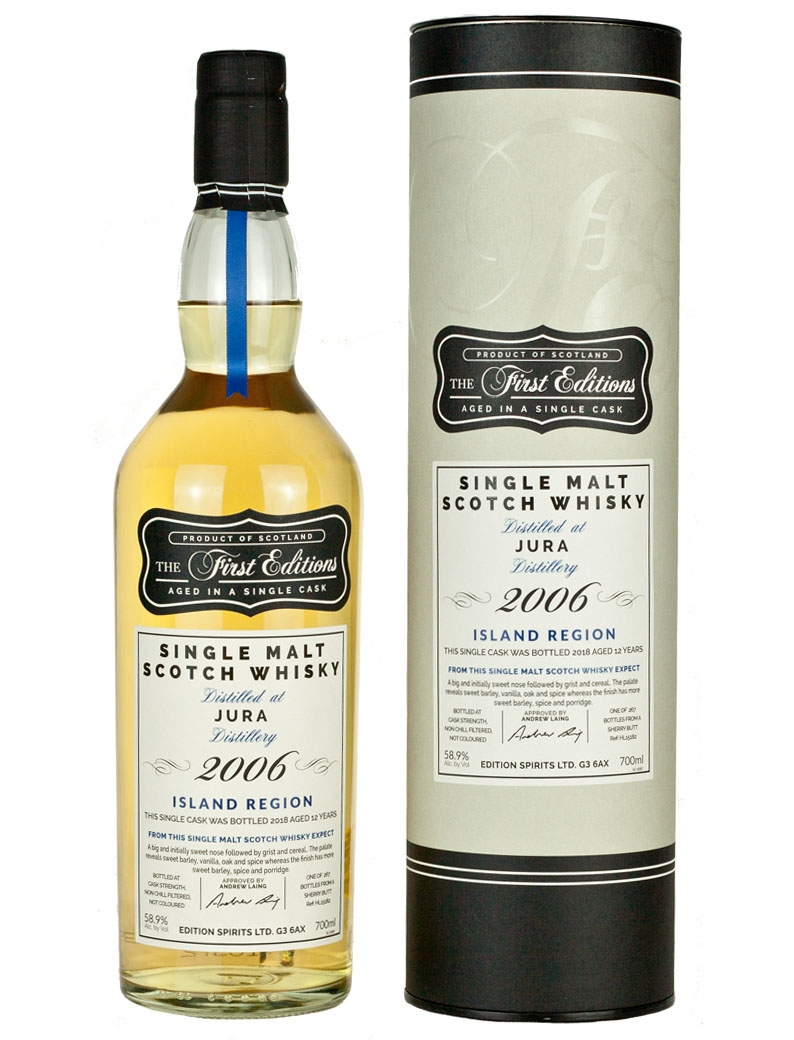 Isle Of Jura 12 Year Old 2006 First Editions