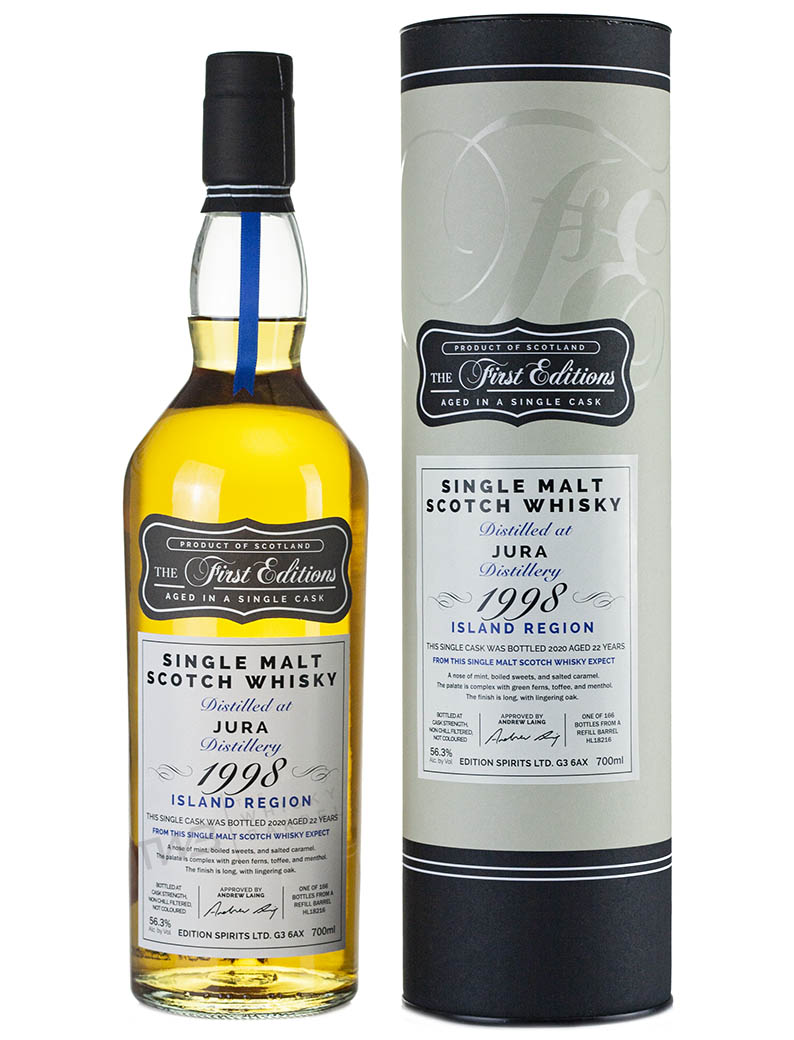 Isle Of Jura 22 Year Old 1998 First Editions