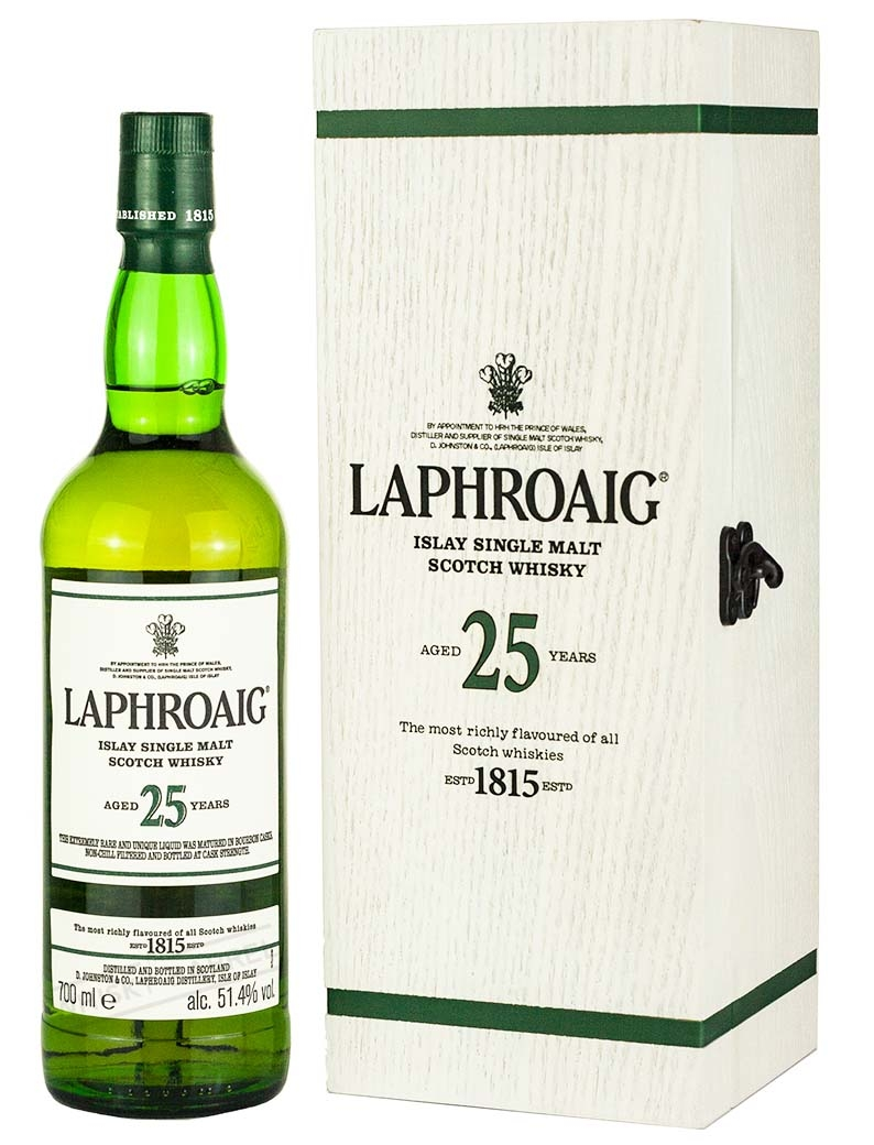 Laphroaig 25 Year Old 2019 Release