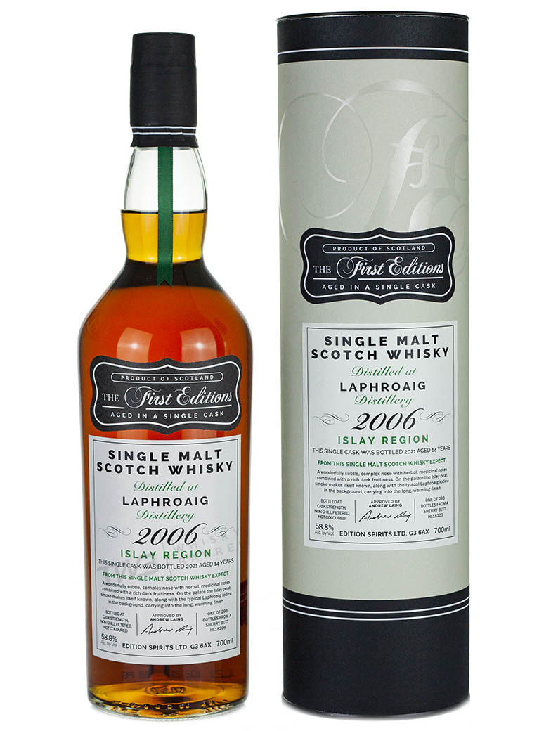 Laphroaig 14 Year Old 2006 First Editions