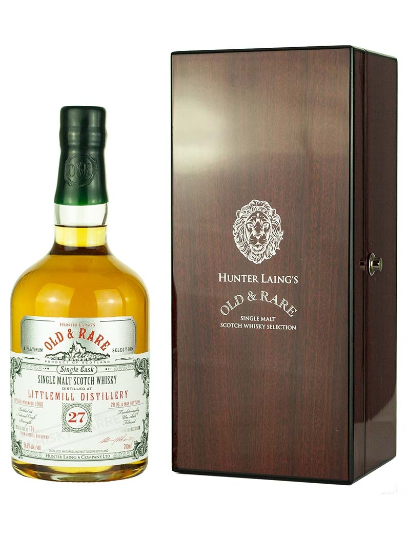 Littlemill 27 Year Old 1988 Old & Rare Platinum