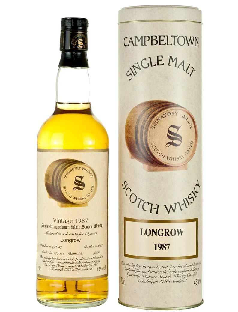 Longrow (springbank) 10 Year Old 1987 Signatory