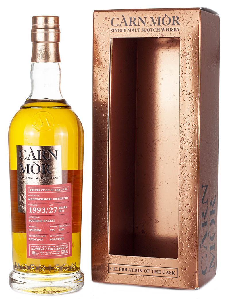 Mannochmore 27 Year Old 1993 Celebration Of The Cask
