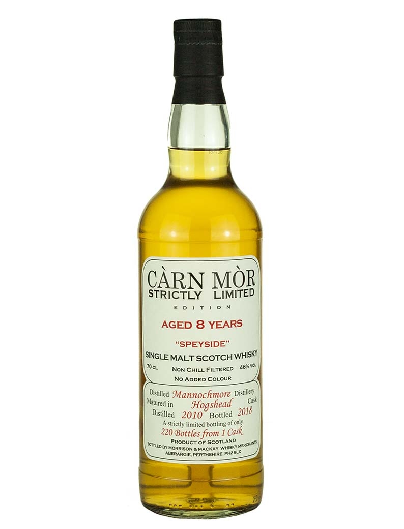Mannochmore 8 Year Old 2010 Strictly Limited