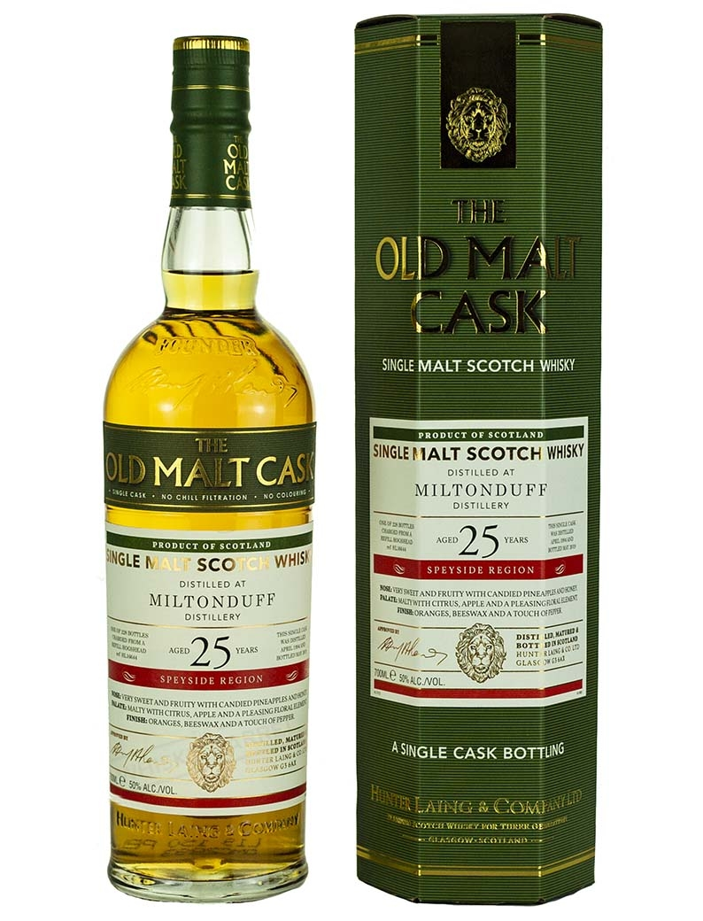 Miltonduff 25 Year Old 1994 Old Malt Cask