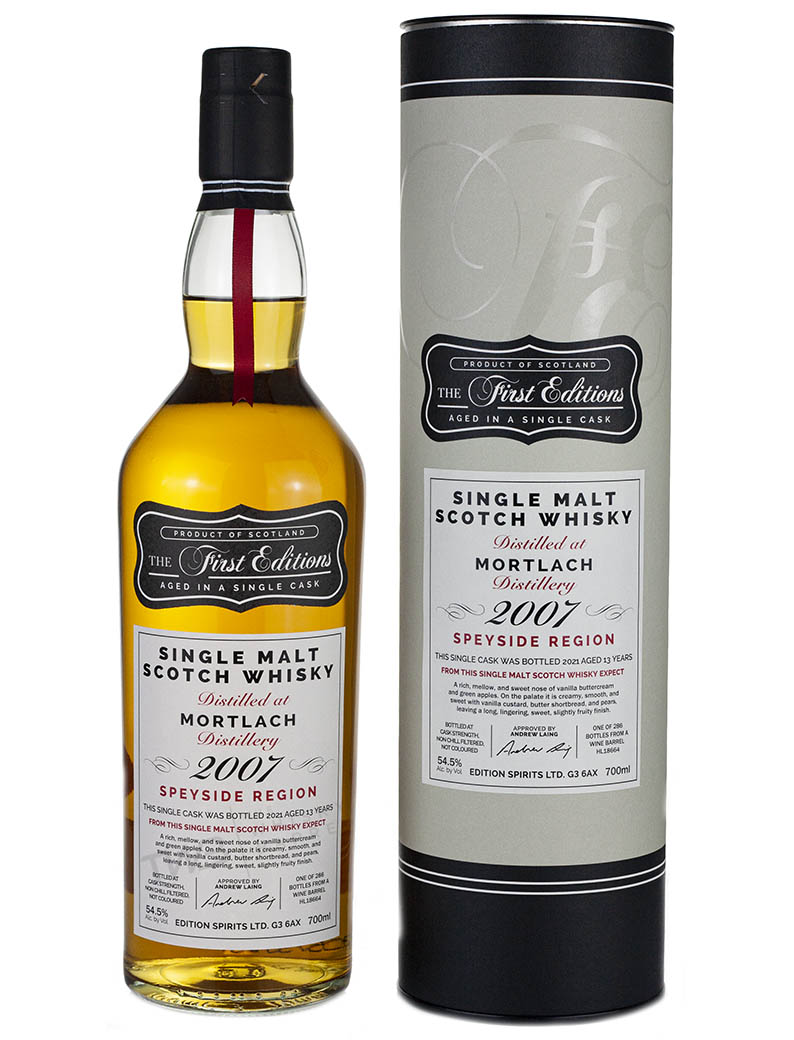 Mortlach 13 Year Old 2007 First Editions 54.5%
