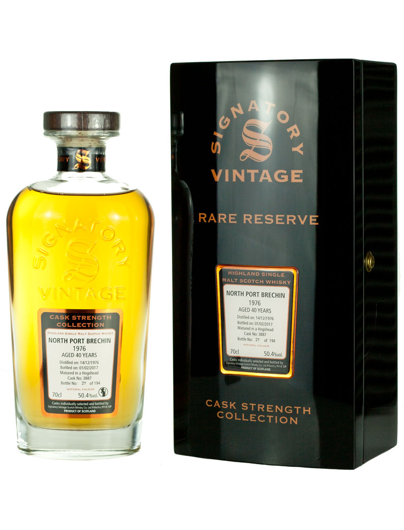 North Port Brechin 40 Year Old 1976 Signatory Rare Reserve