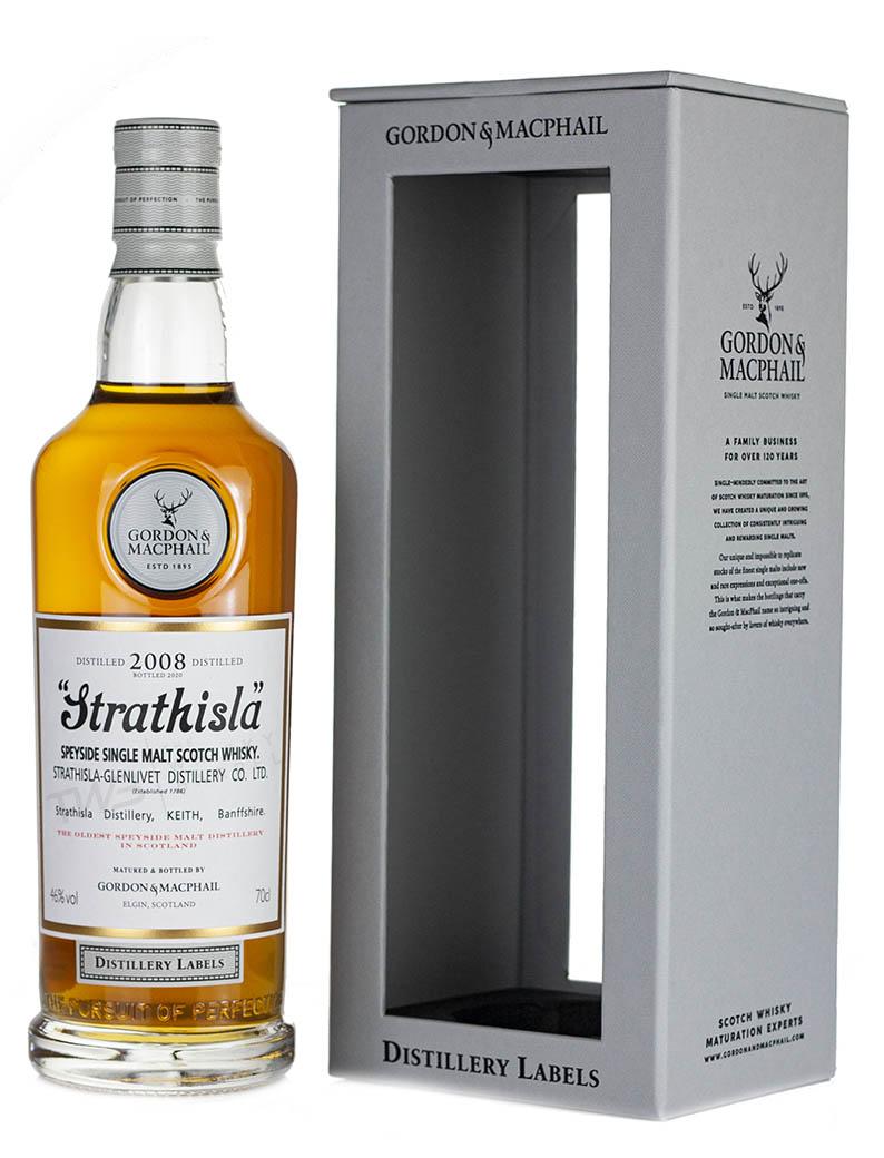 Strathisla 2008 Distillery Labels